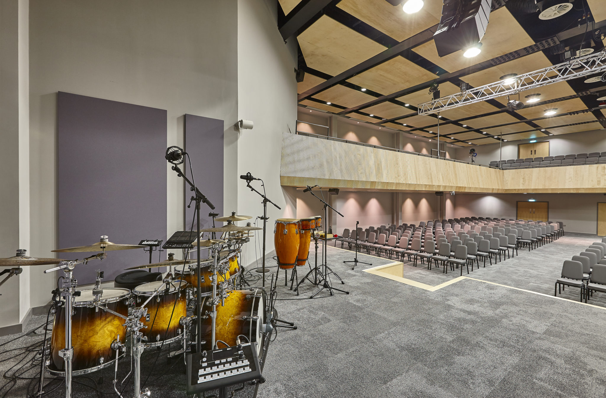 worship spaces timber acoustic panels