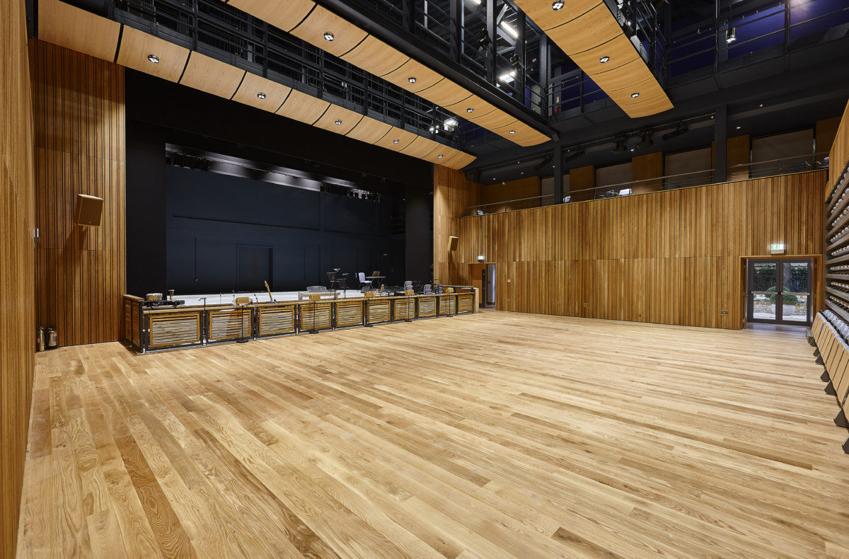 school auditorium acoustic panels