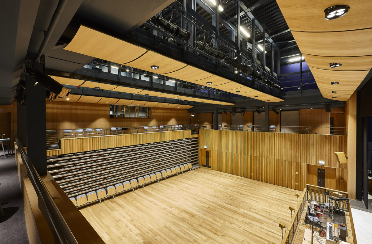 school auditoria acoustic panels