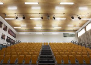 school auditorium acoustic panels