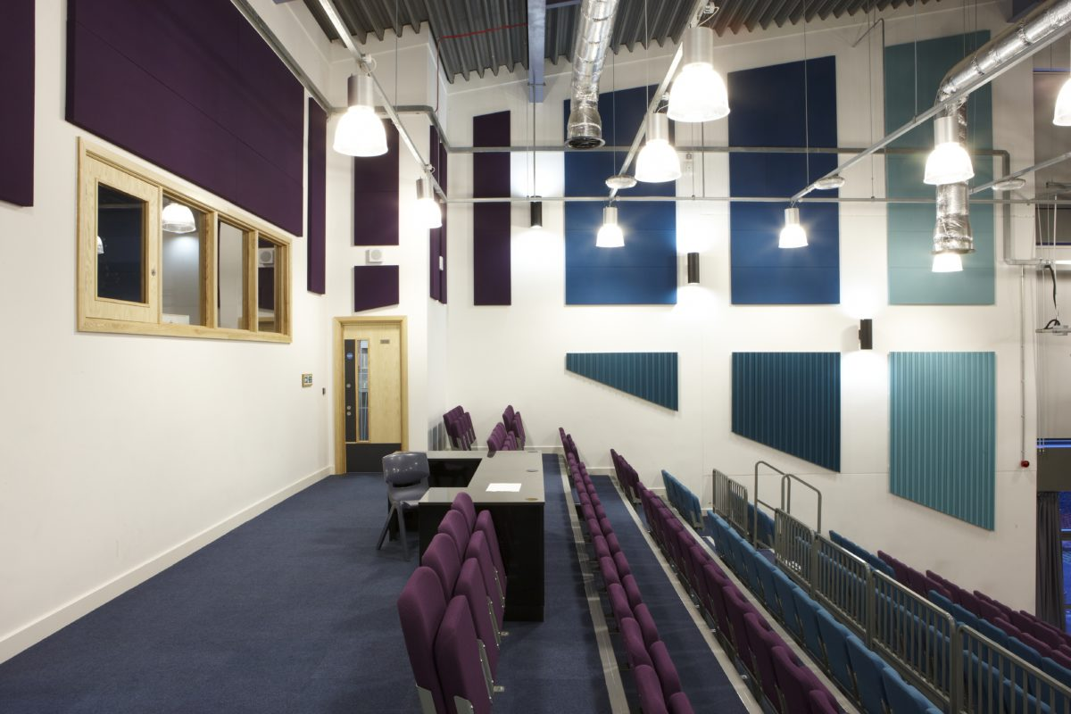 lecture hall acoustic panels
